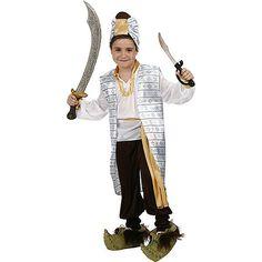 Disfraz de Principe Arabe Guerrero #infantil #disfraces #carnaval