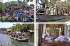 Mike Fink Keel Boats, Disneyland