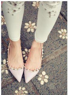 Thời trang giày dép nam nữ  - Túi xách - Ví nữ : 8 cách phối giày với Jeans Skinny hợp gu nhất
