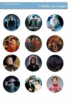 I'm sharing free digital bottle cap images I created Bottle Cap Art, Bottle Top, Bottle Cap Images, Bottle Cap Projects, Bottle Cap Crafts, Free Bottlecap Images, Classe Harry Potter, Harry Potter Free, Harry Potter Printables