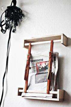 tidningsställ, skärp