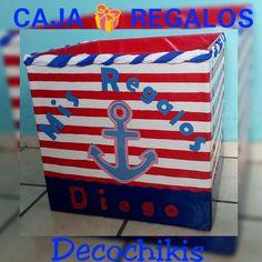 Caja de regalos de nautica