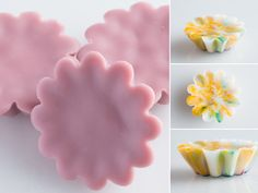 Tutorial:  How to Make Scented Wax Tarts.  Easy, fun, less expensive and higher quality than Yankee or Scentsy!  www.TheCraftingLibrary.com #candlemaking
