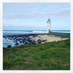 Lighthouse    Port Fairy   #lighthouse #picturesque #portfairy #portfairypics #warrnambool #love #serenity #ocean #beach #pictoftheday #calm #instagood #instamoment by rbillington