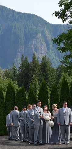 View at Cape Horn Estate - Wedding Venue Skamania Wa near Vancouver WA/Portland OR
