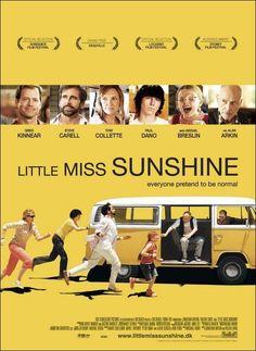 Pequeña Miss Sunshine y la crueldad de los concursos de belleza infantiles. Una road movie con una familia muy particular.