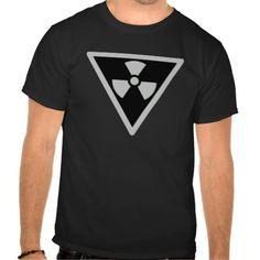 Radioactive Shadow Symbol Tee by Wraithe Designs.