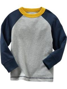 baseball tees for baby in heather gray - ON - $9.94