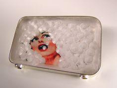 Bety Majernikova - Bubbles serie brooch