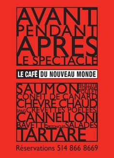 Café du Nouveau Monde - Théâtre du Nouveau MondeThéâtre du Nouveau Monde