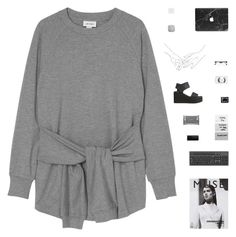 """words are so easy to say"" by loose-ends ❤ liked on Polyvore featuring Monki, NARS Cosmetics, Retrò, Dermalogica and MAC Cosmetics"