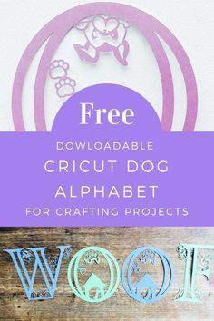 Cricut Svg Files Free, Cricut Fonts, Cricut Vinyl, Scrapbook Page Layouts, Dog Scrapbook, Scrapbooking, Cricut Craft Room, Vinyl Paper, Jar Labels
