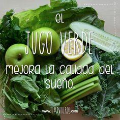 Beneficios del Jugo Verde www.tanverde.com/jugoverde.php