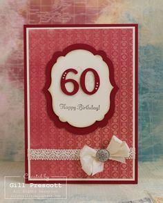 60th birthday card for Brenda