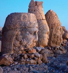 Monument of Gods on Mountain Nemrut Dagh.