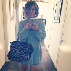 The Celebrity Instagram Guide To L.A.  #refinery29  http://www.refinery29.com/most-popular-celebrity-la-instagram-pictures#slide9  The Instagrammer:  Kaley Cuoco, @normancookThe Spot: Andy Lecompte Salon. Cuoco turned to the celebrity favorite when it came time to chop off her locks. Word to the wise: Book your appointments way in advance to secure a spot. Andy Lecompte Salon, 616 North Almont Drive (near Santa Monica Boulevard); 310- 273-4100.