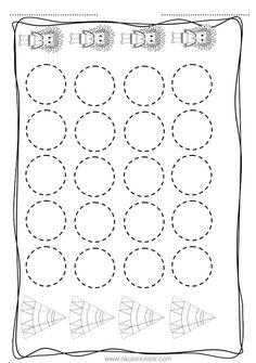 Daire kavramı çalışma sayfası ve daire yuvarlak geometrik şekiller kavramı çalışmaları etkinliği oyunu örnekleri kağıdı indirme, çıktı yazdırma. Free circle worksheets download printable. Preschool Curriculum, Preschool Math, Homeschool, Pre K Worksheets, Kindergarten Worksheets, Diy For Kids, Crafts For Kids, Pre K Activities, Handwriting Practice