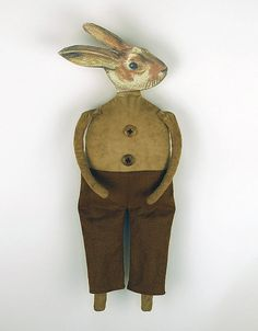Horatio Hopkins A Primitive Rabbit Doll by Old World Primitives