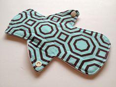 8  Reusable Menstrual pad /Bamboo core /Geo by MamaKloth on Etsy, $8.50