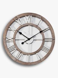 Best Wall Clocks, Unique Wall Clocks, Skeleton Wall Clock, Black Spades, Shell Station, Roman Numerals, Metal, Hands, Quartz