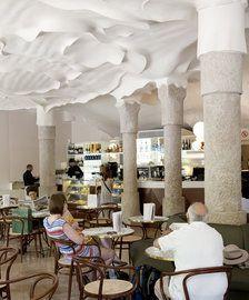 Cafeteria de la Pedrera a Barcelona.