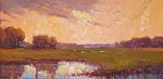 Hagan Fine Art Dee  Beard Dean Almost Sunset