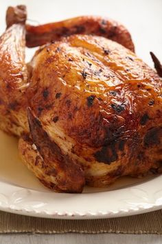 """Perfect Roast Chicken, I'll be honest here (as I always try to be), I cringe at calling anything """"the best"""" or """"perfect."""" Because really, it's all subject to the tastebu. Whole Chicken Recipes Oven, Best Roast Chicken Recipe, Whole Baked Chicken, Best Roasted Chicken, Perfect Roast Chicken, Stuffed Whole Chicken, Roasting Chicken In Oven, Fried Chicken, Roast Chicken And Stuffing"""