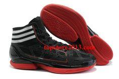 wholesale dealer 91292 6ddad Adidas AdiZero Crazy Light Shoes Black-White-Red Hot Sale Nike Factory  Outlet,