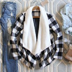The Buffalo Plaid Coat, Cozy Winter Coats from Spool 72. | Spool No.72