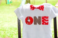 Baby Boy  Sock Monkey Birthday Outfit - Bow Tie Bodysuit - Sock Monkey Birthday Photo Prop - Cake Smash on Etsy, $24.00
