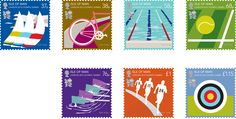 VOGUE fashion | news | ポール・スミス、2012年ロンドンオリンピック記念切手をデザイン。