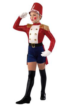 Novelty Detail - Toy Soldier Costume