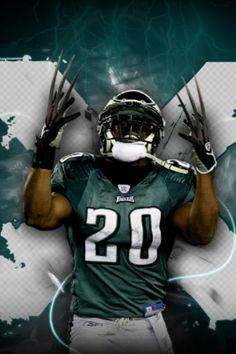 Brian Dawkins - Philadelphia Eagles - ONLY the best player to put on an Eagles uniform!