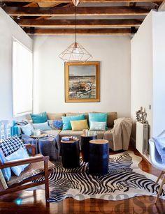 living /salones #color #beams #reformas #diseño #interiores #arquitectura