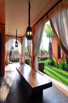Moroccan Inspired House in modern interior & architecture application in Indonesia.