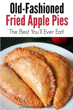 There's nothing better than Southern Fried Apple Pies in the Fall! Check out my Best Fried Apple Pies Recipe that's made completely homemade from scratch! These old fashioned Amish-Style Fried Apple Hand Pies are so easy and delicious with a tender, flaky, and buttery pie crust, a cinnamon sugar apple pie filling, and a sweet powdered sugar glaze. #friedapplepies #applepie #falldesserts Fried Hand Pies, Fried Apple Pies, Apple Hand Pies, Homemade Apple Pie Filling, Homemade Pie Crusts, Fried Apple Pie Filling Recipe, Homemade Fried Pie Dough Recipe, Fried Apples Recipe Easy, Homemade Pies