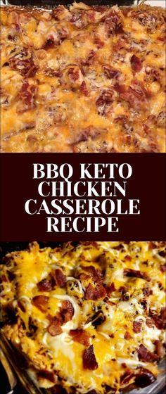 BBQ Keto Chicken Casserole Recipe