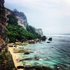 Suluban Beach at Uluwatu, Bali.