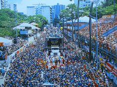 Carnaval de Bahia. Brazil