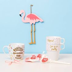 Flamingo fancy home accessories  Prices from €1.50/$1.50 #Primark #homeware #PrimarkHome