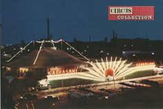 Circus collection: Zirkus Sarrasani circa 1980