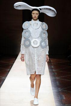 Sfilata Junya Watanabe Parigi - Collezioni Primavera Estate 2018