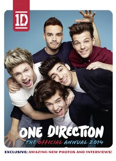 One Direction 2014 Annual - with exclusive photos and interviews - £4.99