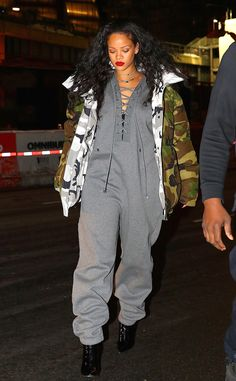 Rihanna from The Big Picture  The songstress keeps it casual in New York City.