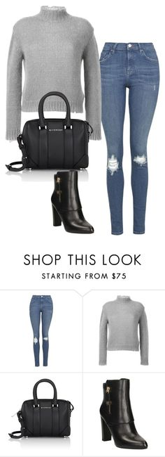 """""""Untitled #716"""" by deamntr ❤ liked on Polyvore featuring Topshop, Filles à papa, Givenchy and GUESS"""