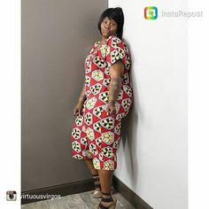 Yes I'm bold and beautiful  #reesethepeacockstylist @reesestylesofelegance  rocking my mom's  custom design jumper #africanprint