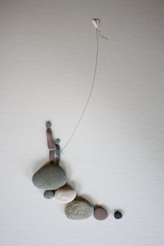 Pebble Art of Nova Scotia by Sharon Nowlan. via Etsy.