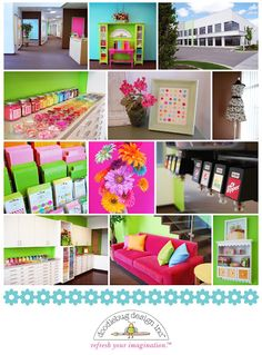 Doodlebug's Colorful Offices
