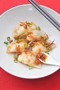 Prawn Dumplings (Har Gow) with XO Sauce