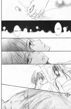 Vampire knight Memories cap 12, Yuuki kuran y Zero kyriuu.